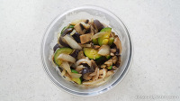 냉장고 남은재료 애호박,가지,버섯 야채볶음 만들기!