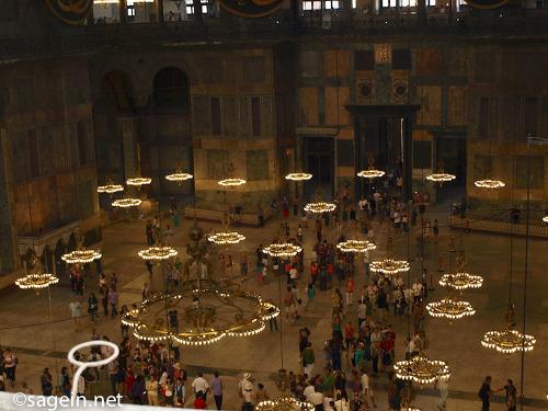 터키여행기 - 아야소피아 성당