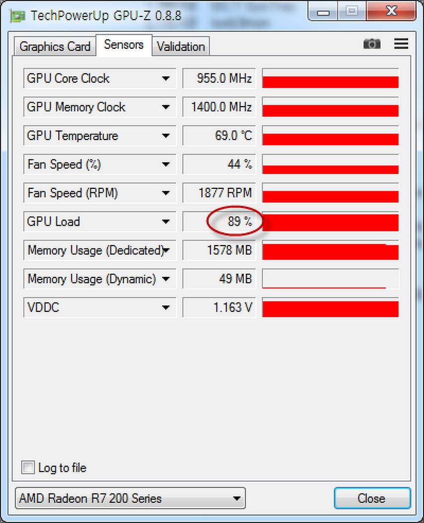 유휴상태에서 그래픽카드 GPU 점유율 90% 현상