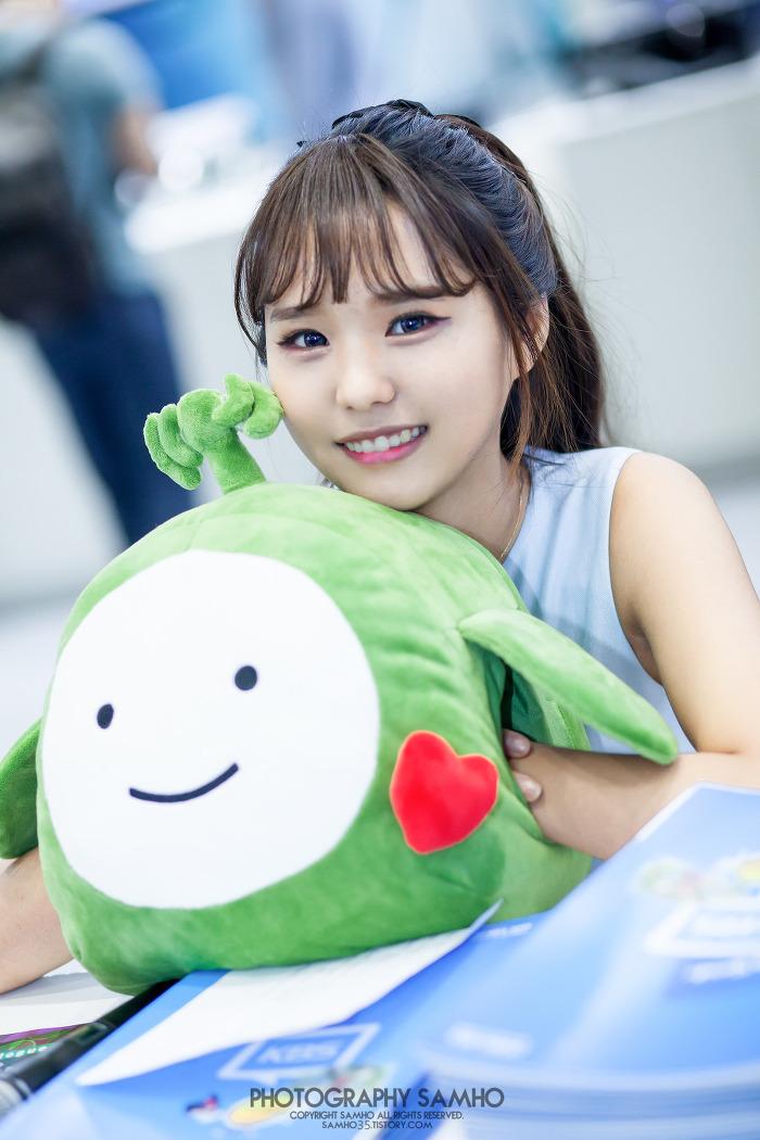 2016KOBA 코바쇼 KBS부스 김유민 #1