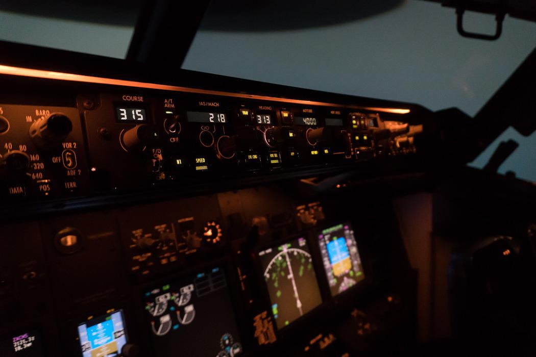 미국 플로리다 마이애미, 팬암 훈련센터에서 737레이팅 훈련