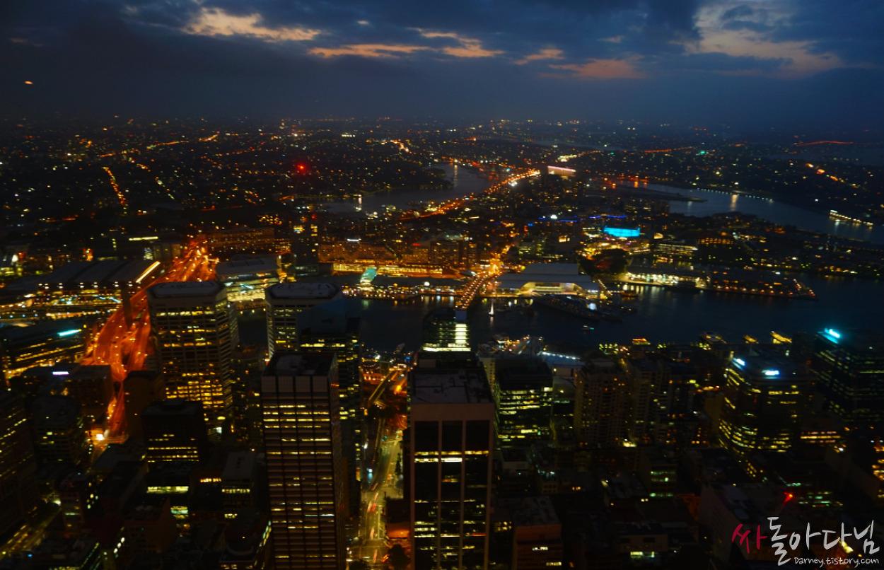 시드니 여행 D+3: 시드니를 한 눈에! 시드니 타워 아이(Sydney T..