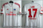 12/13 Hamburger SV Home S/S No.17 Lam Liga Match Issued