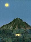 북촌의 달