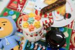 [홈메이드 카페 / 머랭라떼] 달콤한 머랭라떼 # 우리집 크리스마스 시즌 라떼 # 카페라떼 # 라떼아트 2016