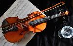 바이올린...