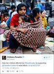 크리스티아누 호날두 기부 세이브더칠드런 네팔 지진 현장 85억 기부