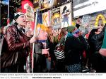 """미국 주요 도시들 """"트럼프는 물러가라"""" 시위 중, 고등학생들까지 참가"""