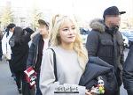 2016.03.11 KBS2 뮤직뱅크 AOA크림 출근 (4Pics)