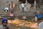 인도여행- 바라나시 가트(Varanasi Ghat)의 새벽 풍경