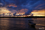 western river - sunset