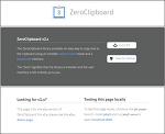 [LIB] 제로클립보드(ZeroClipboard) : 플래시를 이용하여 클립보드 제어권한 획득