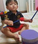 둘째육아일기, 악기놀이에 푹 빠진 아들