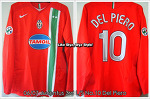 06/07 Juventus 3rd L/S No.10 Del Piero Player Issued (SOLD OUT)