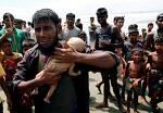 로힝가 난민 40만명 넘어서, 매일 늘어나고 있다.