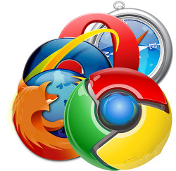 인터넷 브라우저 점유율. 2012년 3월 (Internet Browser marketshare, Chrome, IE, Firefox, Opera, Safari)