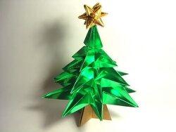 크리스마스 트리 종이접기 동영상입니다. 6장으로 만듭니다.
