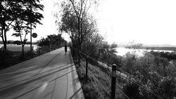 아! 자전거타기 좋은계절~ 제가 추천하는 샤방샤방 소풍 겸 데이트 코스   ( 미사리 -> 하남 팔당  자전거도로 )