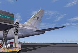 한불항공/KOFES . Paris → Nice . B777-200LRF . KFA100X
