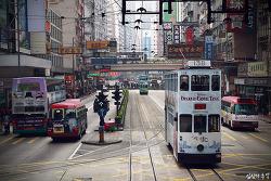 [홍콩여행] 300원으로 홍콩을 즐기는 방법, 트램타기