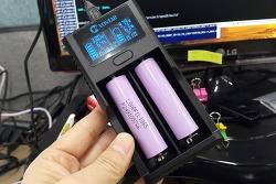 [알리직구] 18650 USB 충전기 VONTAR - 성능은 그럭저럭 추천은 안함!!
