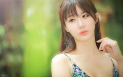 알록달록 푸른 옷을 입은 다빈양 'ㅡ' (4-PICS)