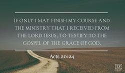 <사도행전 20:25-38>너 하나님께 이끌리어
