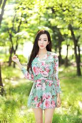 양재 시민의 숲에서 담아 본 그녀, 레이싱모델 한지오 님 (5-PICS)