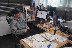 와콤 인튜어스 프로 페이퍼 에디션 X 일러스트레이터 - 김정윤 작가