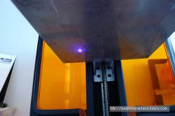 편광필터로 Form 1+ 3D프린터 레이저 테스트하기.