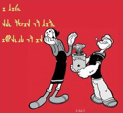 Olive & Popeye