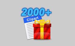 [일시무료] 2,000개 이상의 클립아트 모음, 'Clipart 2000+'