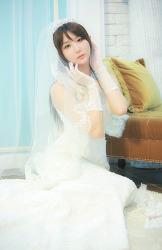 흰 웨딩드레스가 잘 어울리는 그녀 MODEL: 연다빈 (5-PICS)