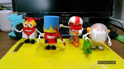 2016년 5월 맥도날드 해피밀 해피 2차 4종 세트 (McDonald's Happy Meal Toy Corea)