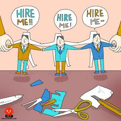[illust]business hiring
