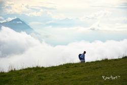 구름위의 산책 리기산 리기쿨룸-스위스 루체른여행 Rigi Kulm
