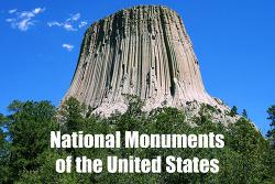 미국의 준국립공원(準國立公園)에 해당하는 내셔널모뉴먼트(National Monument)에 대해 알아보자