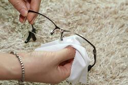 안경 김서림방지 안경클리너 루이 실제 테스트