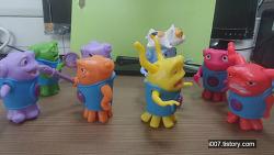 2015년 6월 맥도날드 해피밀 드림윅스 홈 8종 세트 (McDonald's Happy Meal Toy Corea)