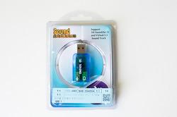 내장형 사운드카드가 고장나면 3천원짜리 USB 사운드카드로 해결 가능