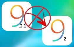 iOS 9.2로 다운그레이드 가능했던 기간은 16~17일