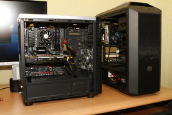 인텔 AMD 인코딩 그래픽성능 비교 i7 6700K FX8300