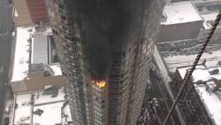 뉴욕에서 살았던 아파트화재와 미국인들의 대응법