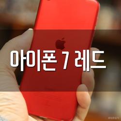 아이폰 7 레드