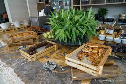 베트남 다낭 하얏트 호텔 조식 나오는 음식들