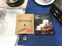 드립백 : 탐앤탐스 & 고고커피  커피