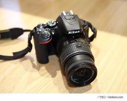 D5500 렌즈 휴대하기좋은 침통식 니콘 번들렌즈 니콘 AF-S DX NIKKOR 18-55mm F3.5-5.6G VR II