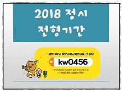 2018 정시 전형기간 - New