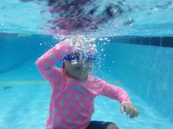 연우 수영