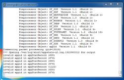 Invalid app error message on Snort OpenApp ID